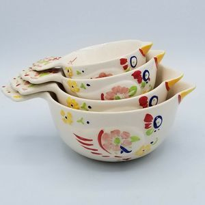 Other - VTG Chickens Nesting Measuring Cups Hand Painted